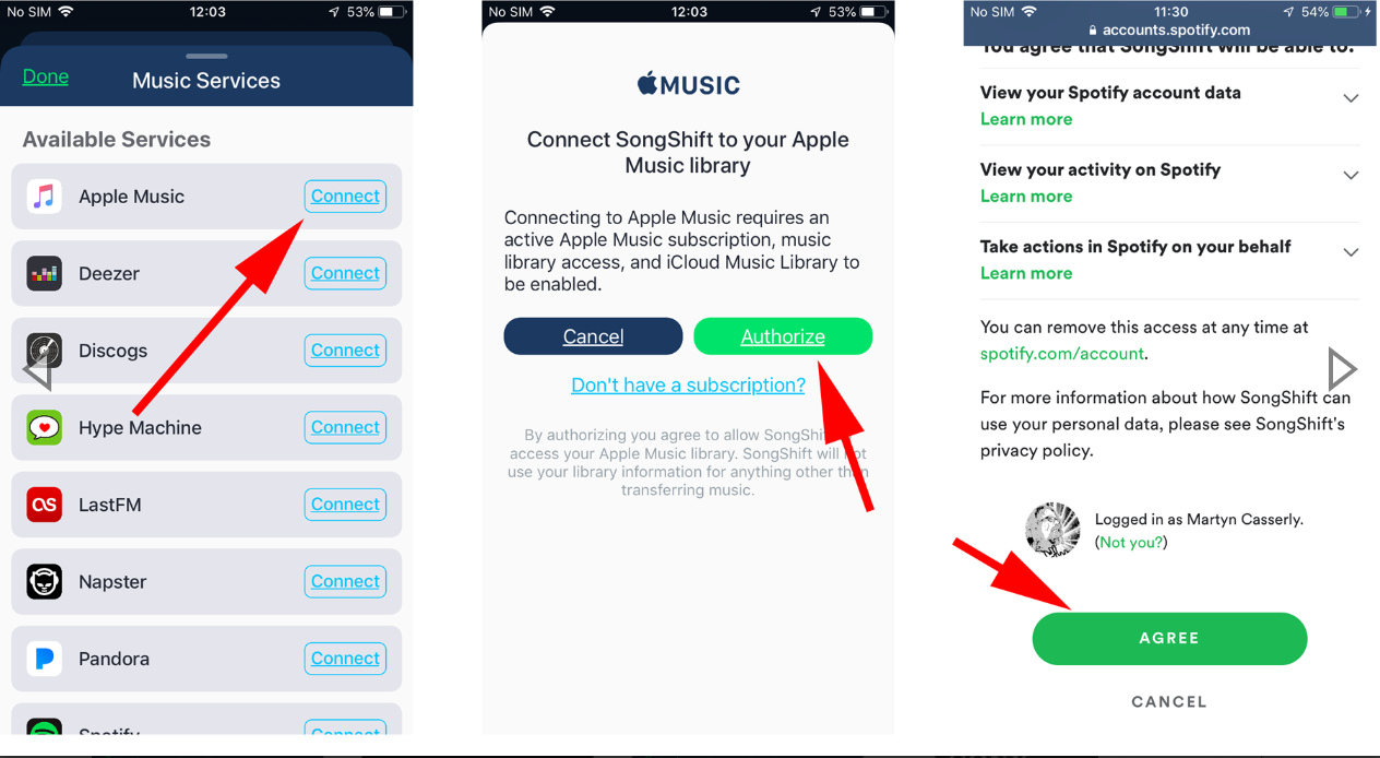 How to transfer Apple Music playlists to Spotify