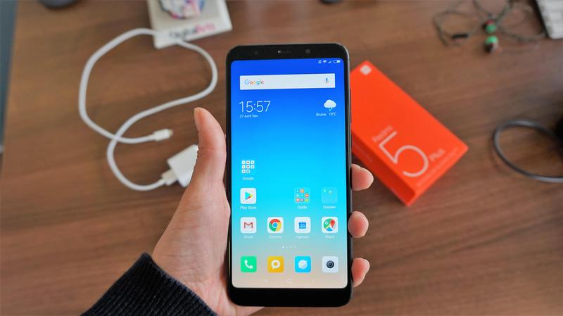 test redmi 5 plus