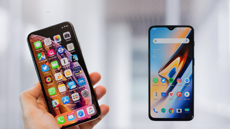 Comparatif : iPhone XS vs OnePlus 6T